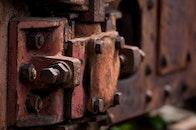 train, metal, blur