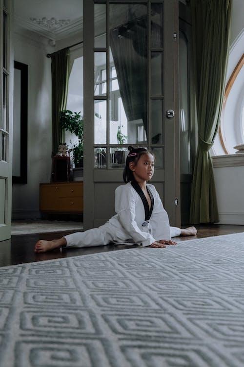 Δωρεάν στοκ φωτογραφιών με karategi, ασιατικό κορίτσι, ασκούμαι