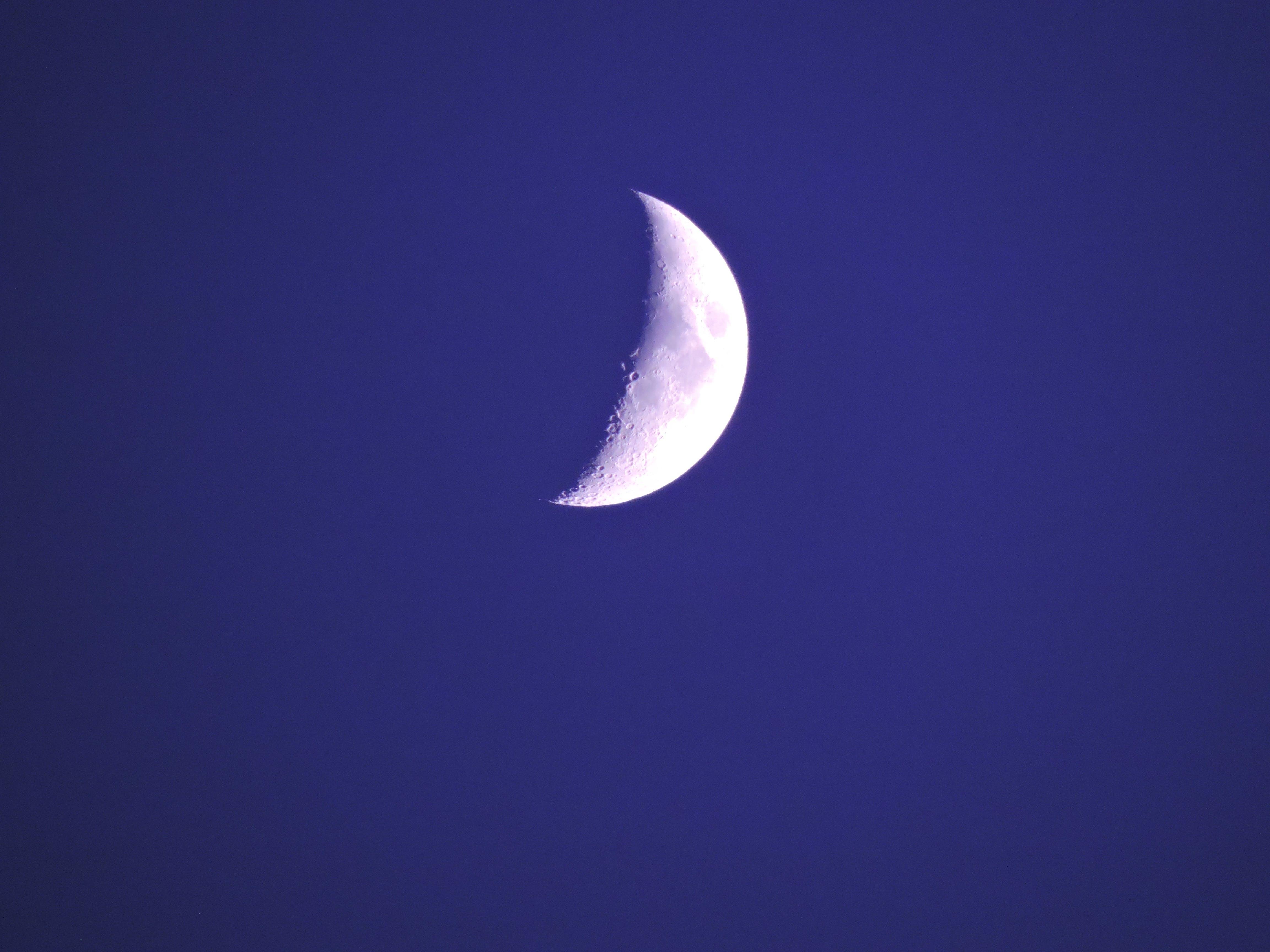 Half Moon \u00b7 Free Stock Photo