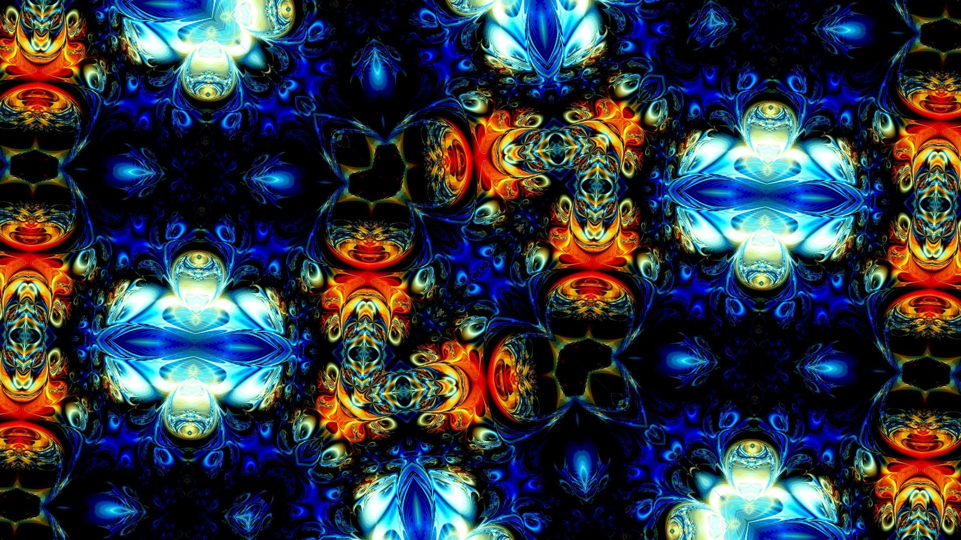 Free stock photo of abstract, animated ornament, background, fractal art