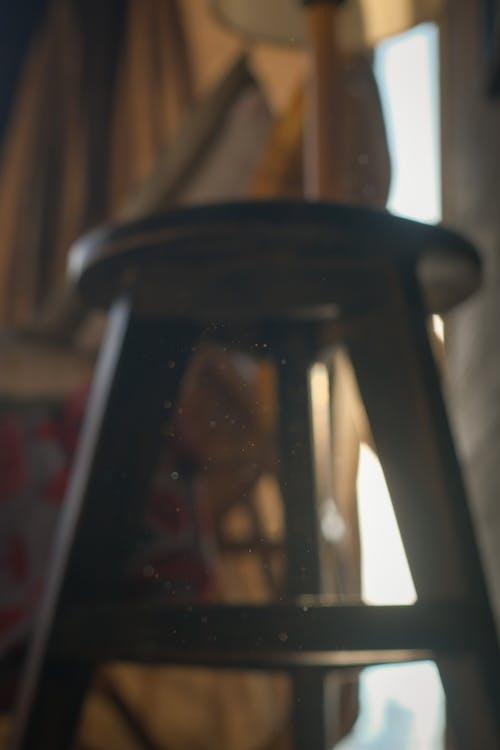 Black Lantern Lamp Turned Off
