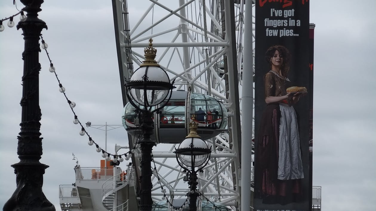 Free stock photo of london eye