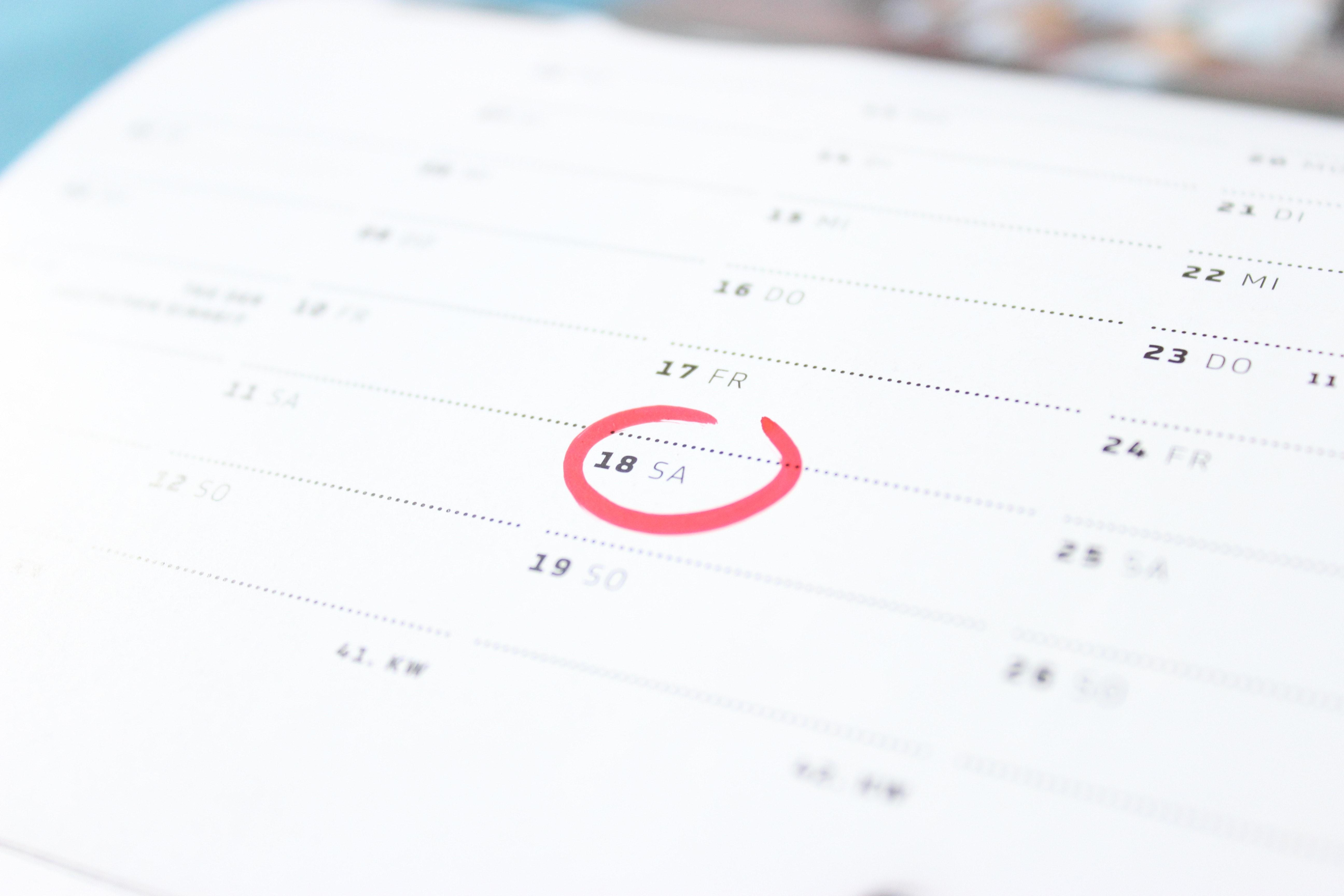 40 Great Calendar Photos Pexels Free Stock Photos
