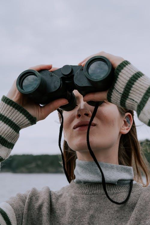 คลังภาพถ่ายฟรี ของ กล้องส่องทางไกล, กลางแจ้ง, การตรวจตรา, การท่องเที่ยว