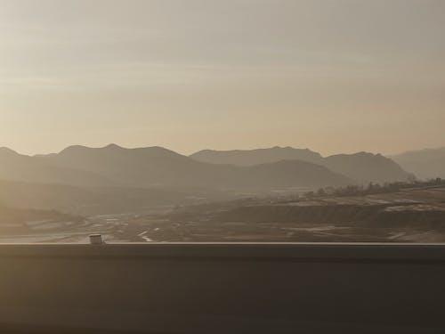 Photos gratuites de aube, brouillard, coucher de soleil, coucher du soleil