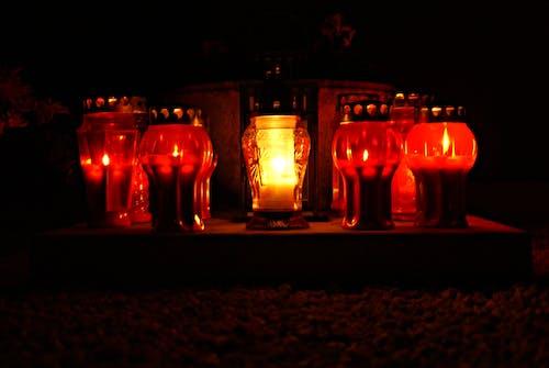 Free stock photo of candle, light, night