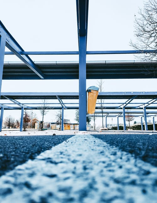 Free stock photo of city, concrete structure, parking area