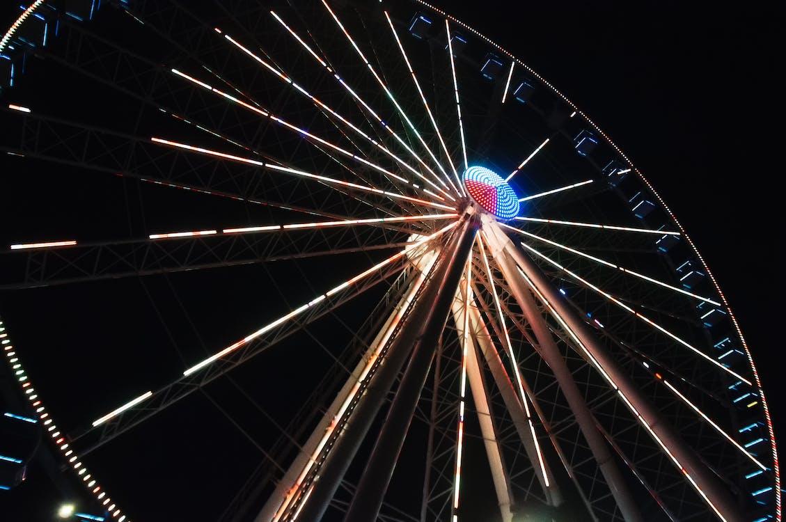 Free stock photo of ferris wheel, Great Smokey Mountains, Smokey Mountains
