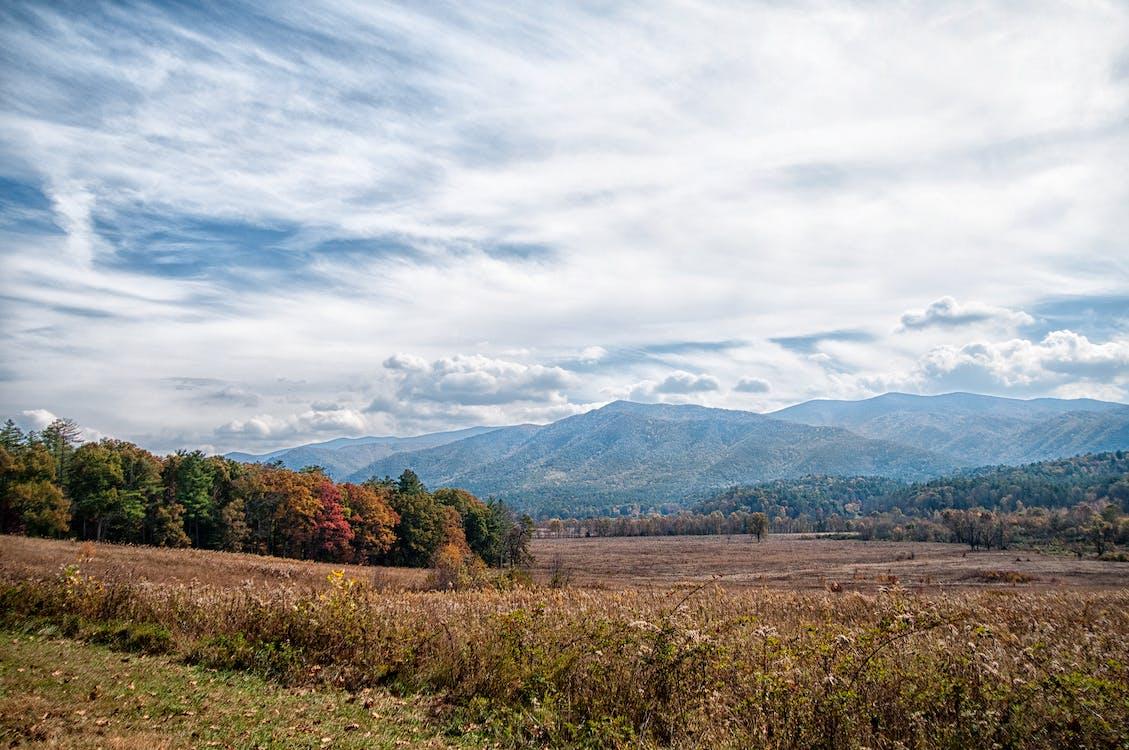 Free stock photo of Great Smokey Mountains, mountains, sky