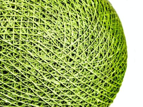 光, 棉花, 棉花球, 綠色 的 免费素材照片