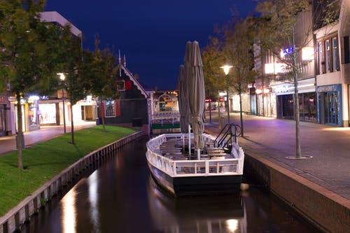 Free stock photo of amsterdam, bar, boat, canals