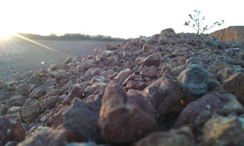 Free stock photo of sand, stone, sun