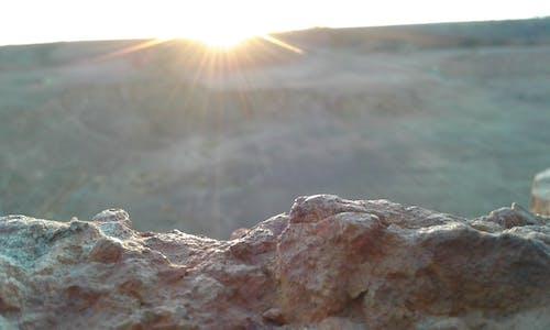 Free stock photo of sand, stones, sun