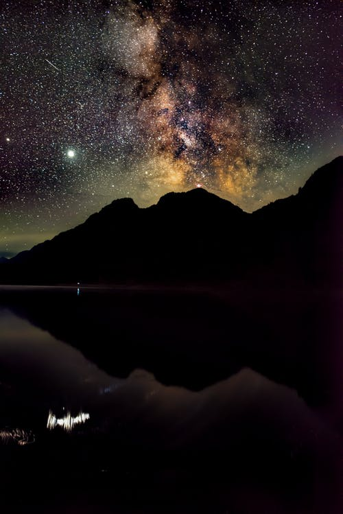 Free stock photo of buttle lake, milkyway, sony