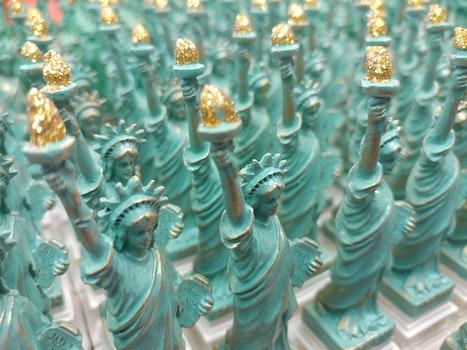 Free stock photo of new york, usa, Mrs liberty