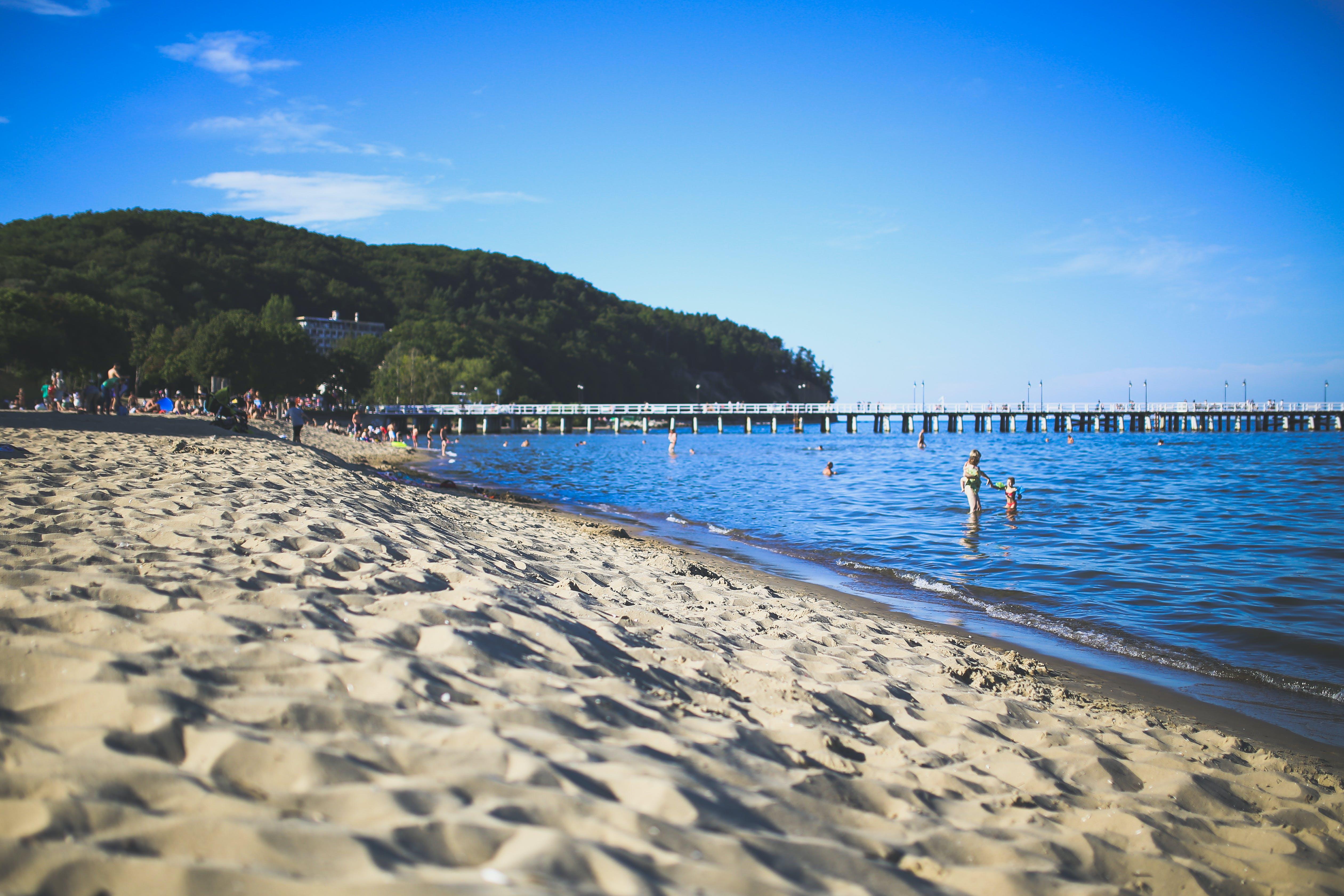 Free stock photo of sea, landscape, beach, holiday