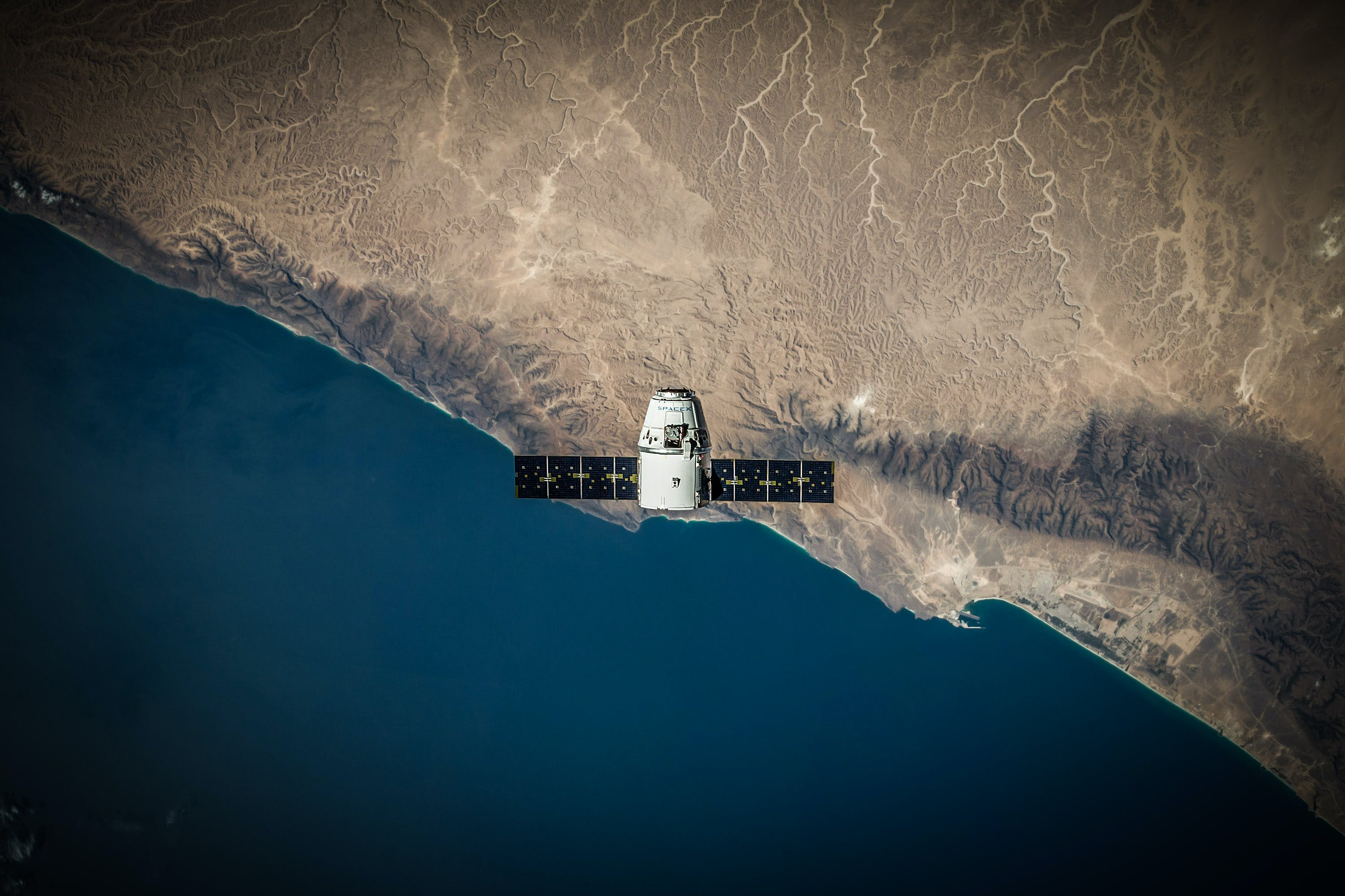 aerial view, earth, exploration