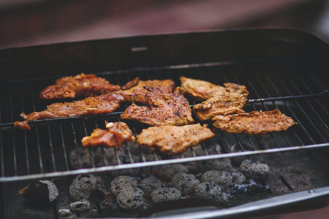 àpat, barbacoa, carn