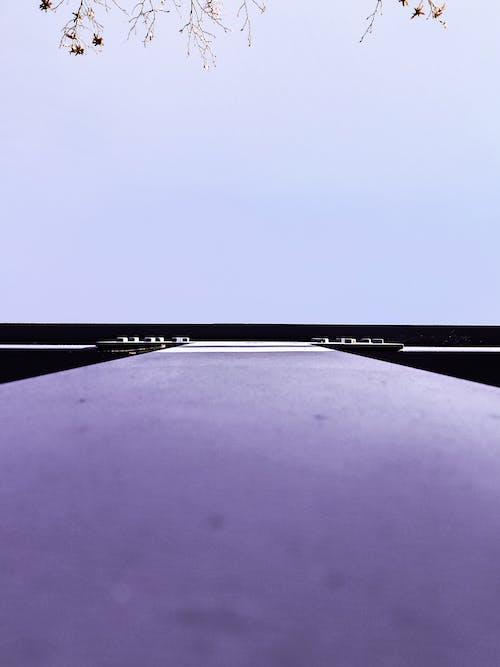 Free stock photo of blue sky, metal construction, minimal design