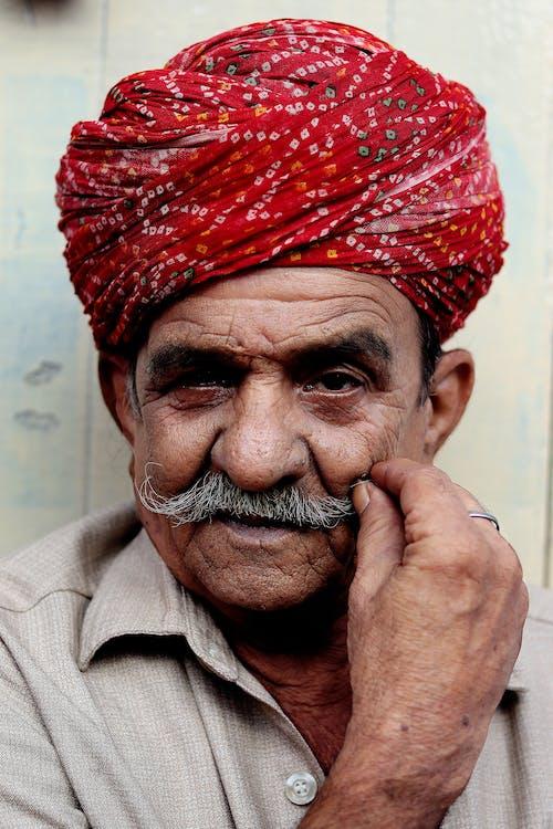 人, 印度傳統, 微笑 的 免費圖庫相片