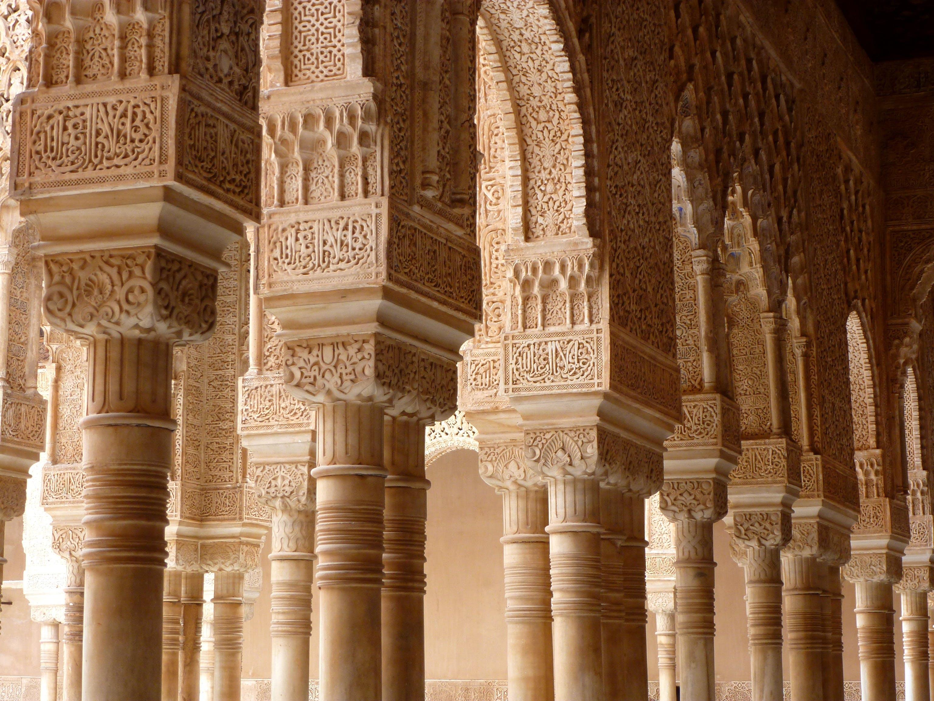 Základová fotografie zdarma na téma alhambra, andalusie, architektura, béžová