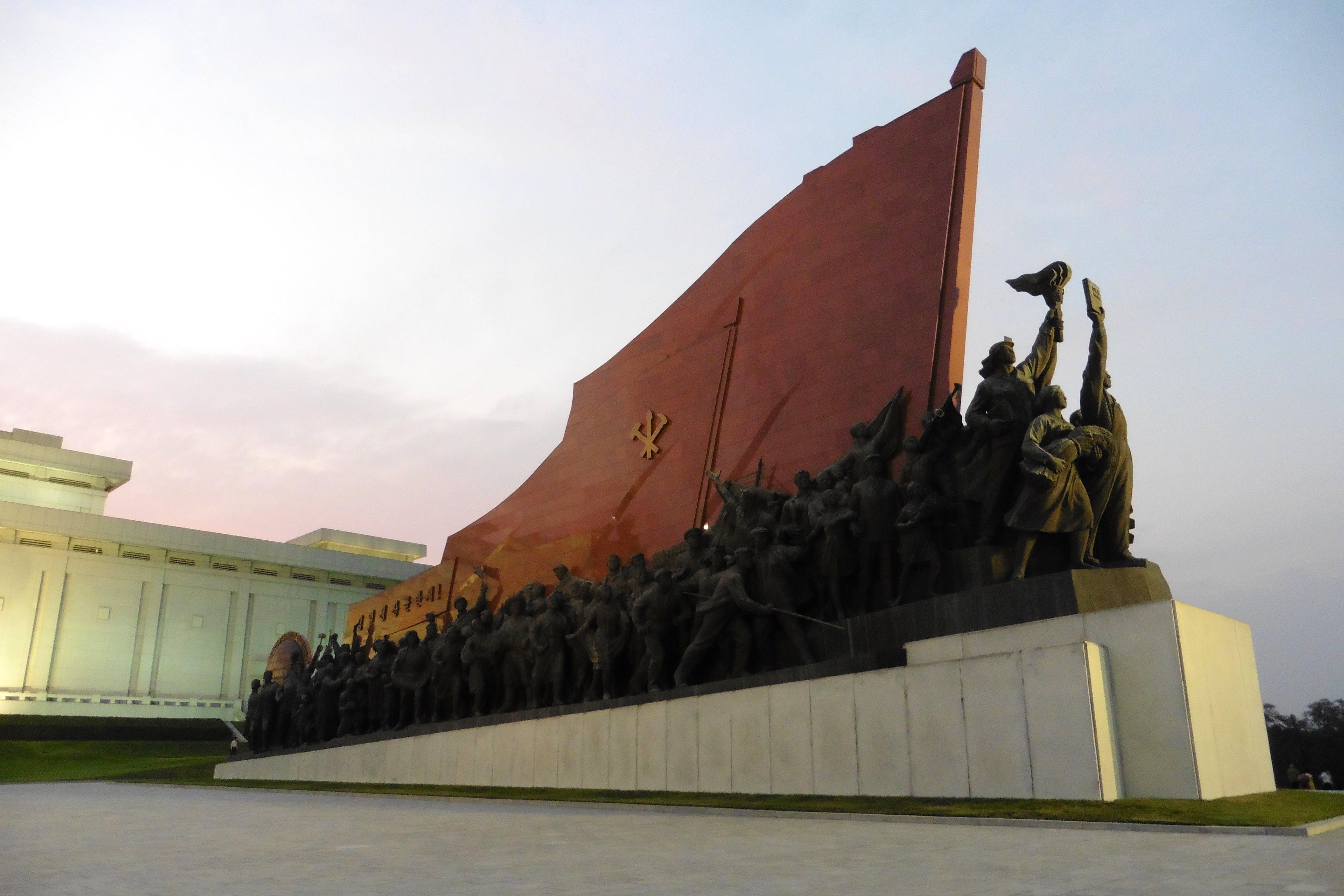 Základová fotografie zdarma na téma Asie, červená, juche, komunistický