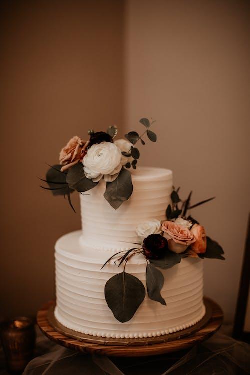 Ảnh lưu trữ miễn phí về Bánh cưới, bánh ngọt, bó hoa, cà phê