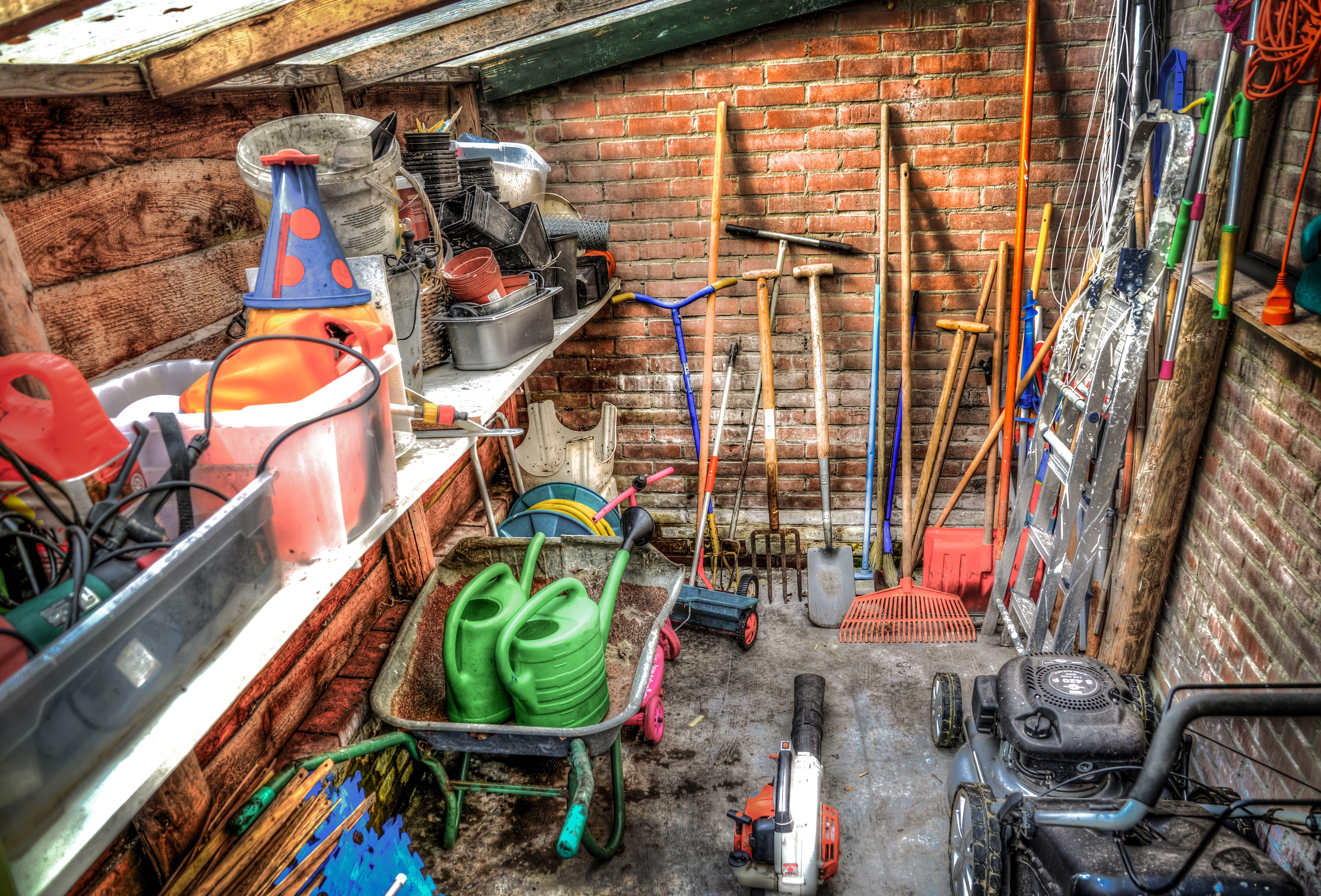 Free stock photo of garden, spring, tools, gardening