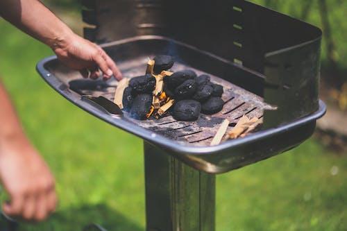 คลังภาพถ่ายฟรี ของ briquettes, การย่าง, ตะแกรงหน้า, บาร์บีคิว