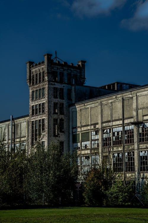 Základová fotografie zdarma na téma budova, opuštěná budova, opuštěný, strašidelný
