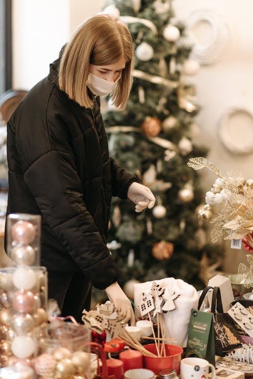 Imagine de stoc gratuită din butic, covid19, Crăciun