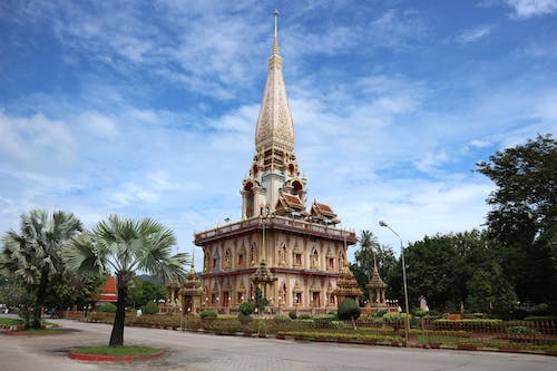 Free stock photo of buddhist temple, chaithararam temple, chalong temple