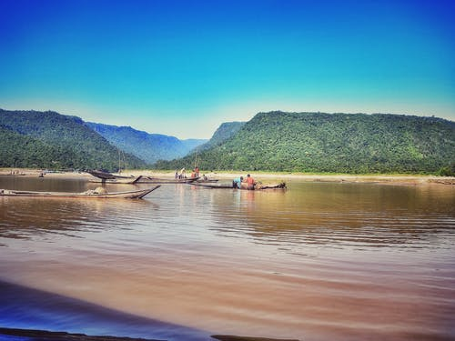 Fotos de stock gratuitas de agua Azul, aguas azules, barca, belleza