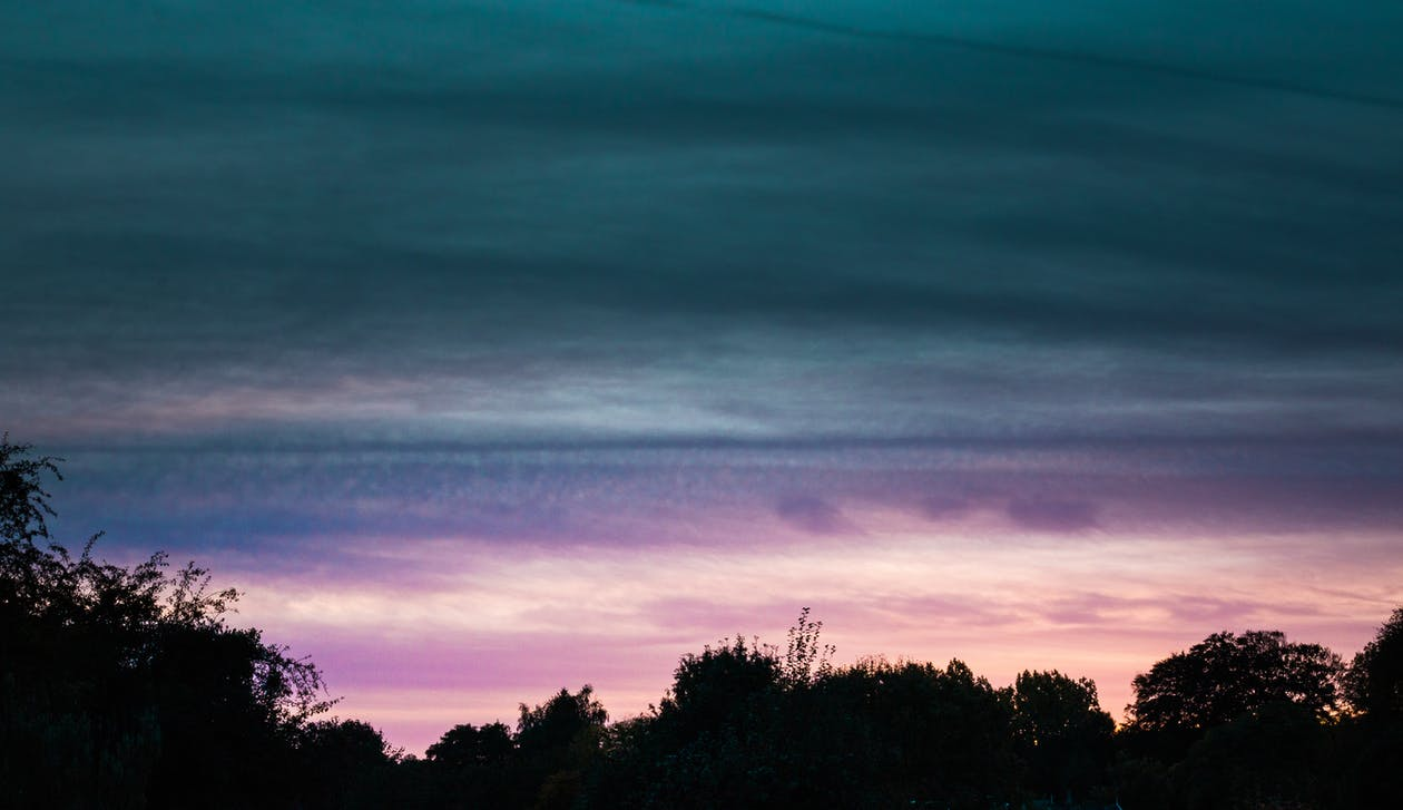 Free stock photo of dark clouds, purple cloud, sky