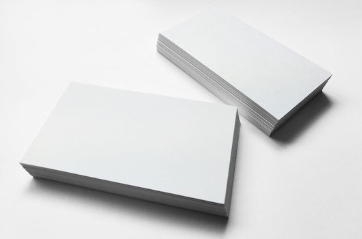 Free stock photo of mockup, design, corporate, card