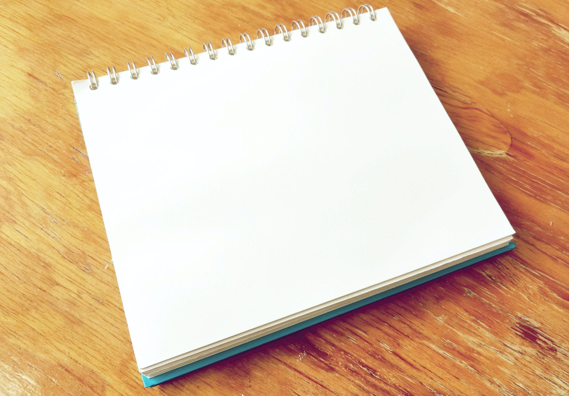 Free stock photo of notebook, paper, page, blank