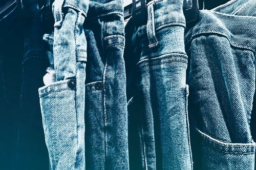 Blue Jeans Side by Side