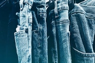 jeans, wear, close-up