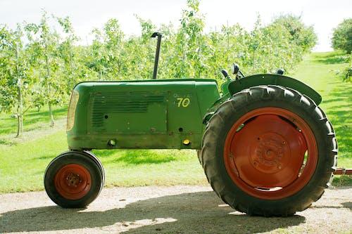 Imagine de stoc gratuită din fermă, tractor
