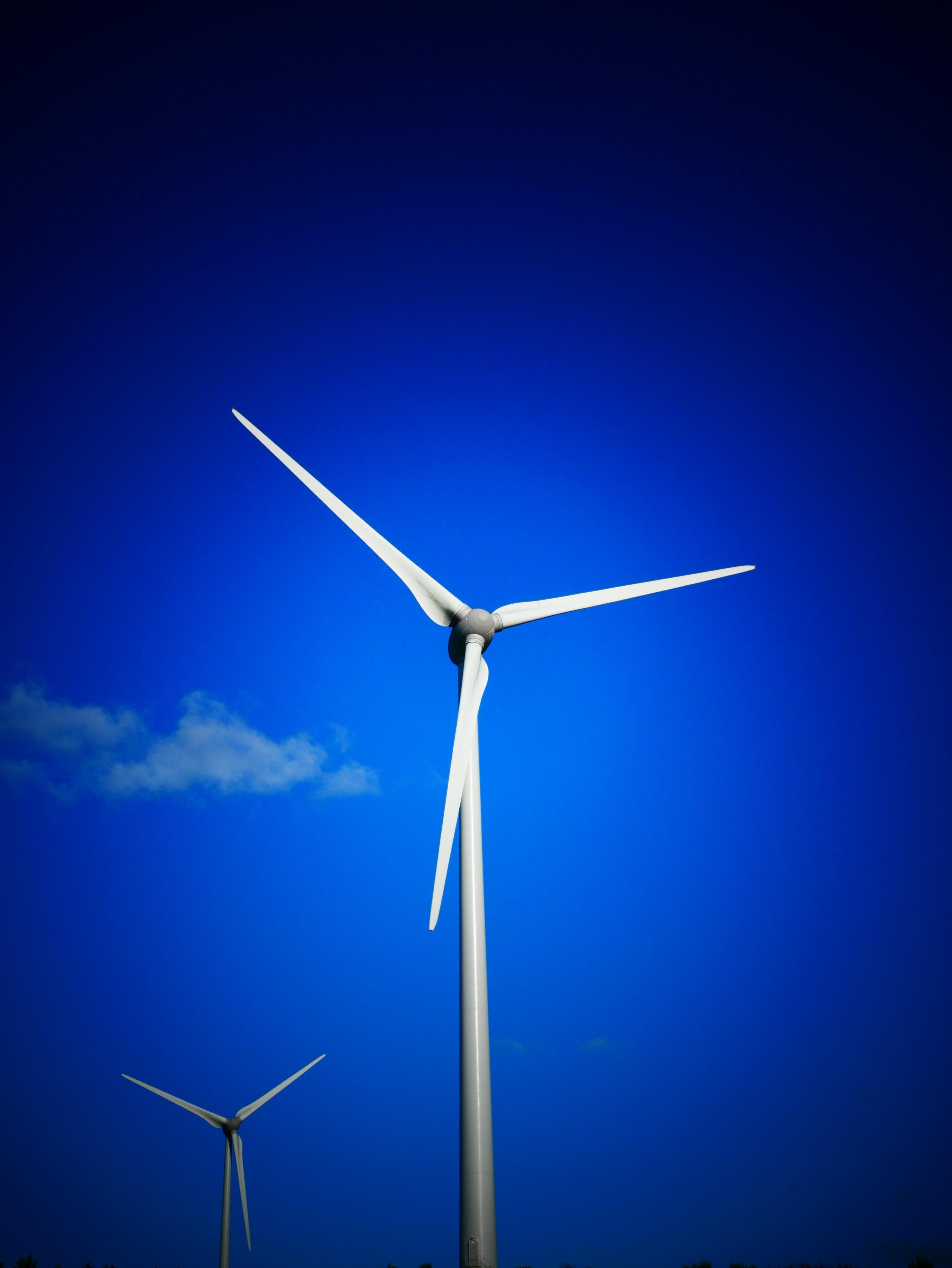 3 Blade Windmill 183 Free Stock Photo