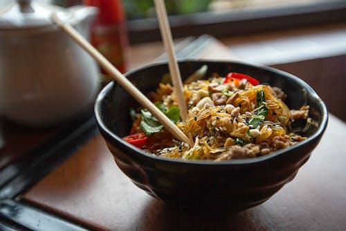 一部分, 上菜, 亞洲食品 的 免費圖庫相片