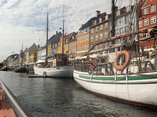 Free stock photo of canal, copenhagen, denmark