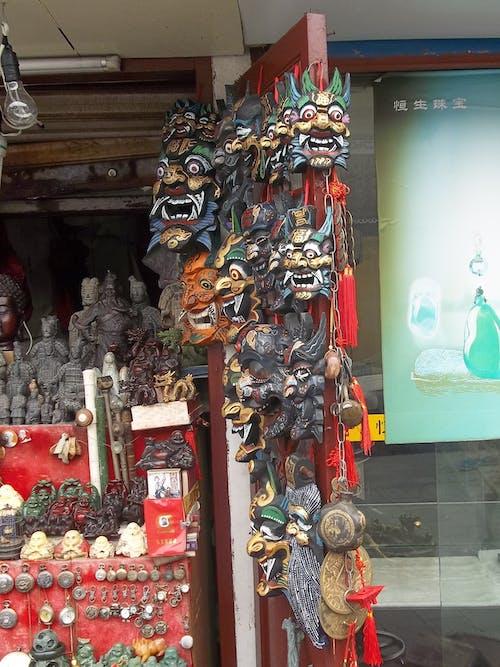 Free stock photo of china, masks, shanghai