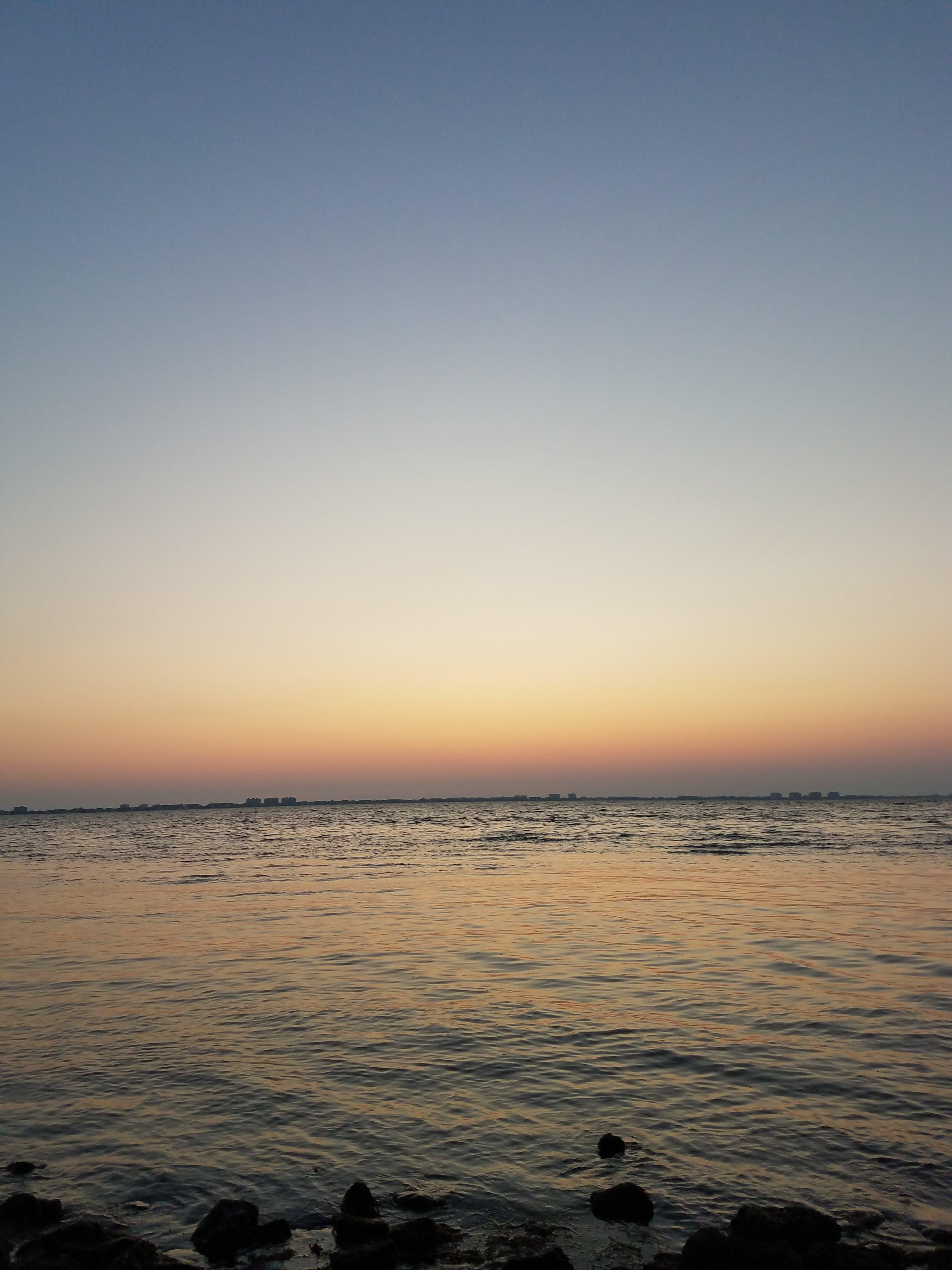 Kostenloses Stock Foto zu #sunset #water #ocean #florida #warm