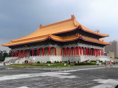 Free stock photo of memorial, taipei city, taiwan