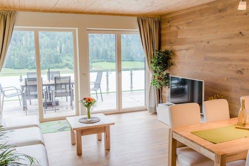 Wooden Themed Living Room