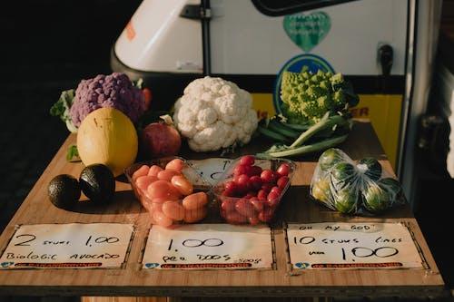 Immagine gratuita di broccoli, cavolfiore, cibo