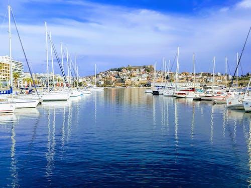 Yachts Docked on Marina