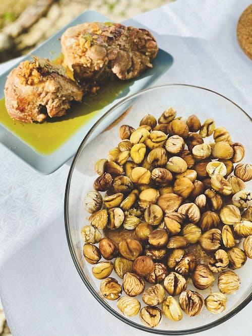 Kostnadsfri bild av kastanj, lunch, paleo mat