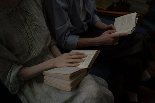 Základová fotografie zdarma na téma čtení, fotka zvysokého úhlu, moudrost